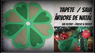 Tapete / Saia Para Árvore De Natal – PAP