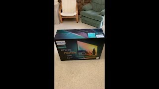 Philips IPS 35inch 356M6QJAB Monitor Unboxing