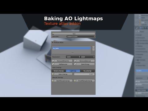 Baking AO Lightmaps Multiple objects - BGE Tutorial