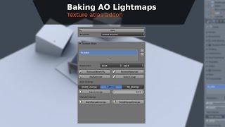 Pişirme AO Birden çok nesne Işığı - BGE Öğretici