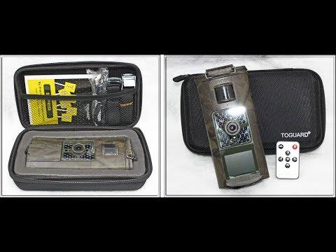 Toguard 12MP 1080P 120° Wide Angle Waterproof Wildlife Camera