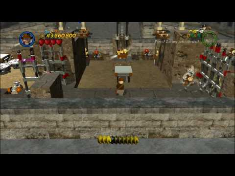 LEGO Indiana Jones 2 - The Last Crusade - Castle Cave (Bonus Level ...