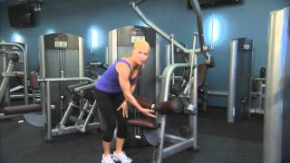 Life Fitness Signature Series Pulldown Instructions