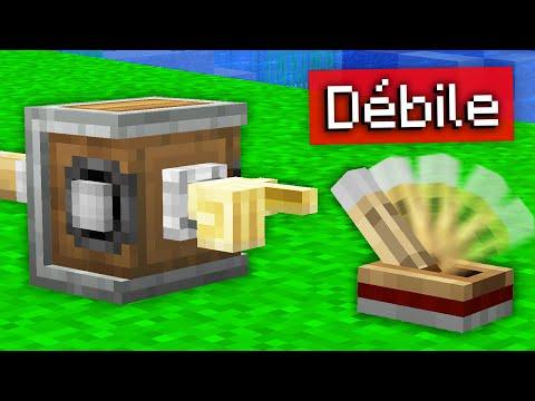J'ai construit la machine la plus INUTILE de Minecraft...