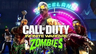 Call of Duty Infinite Warfare Zombies Gameplay Part 1 - ZOMBIE CLOWNS!!