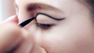 Вечерний макияж со стрелками: экстравагантный образ для летней вечеринки(Урок создания вечернего макияжа со стрелками от визажиста марки Yves Saint Laurent., 2014-08-08T12:01:50.000Z)