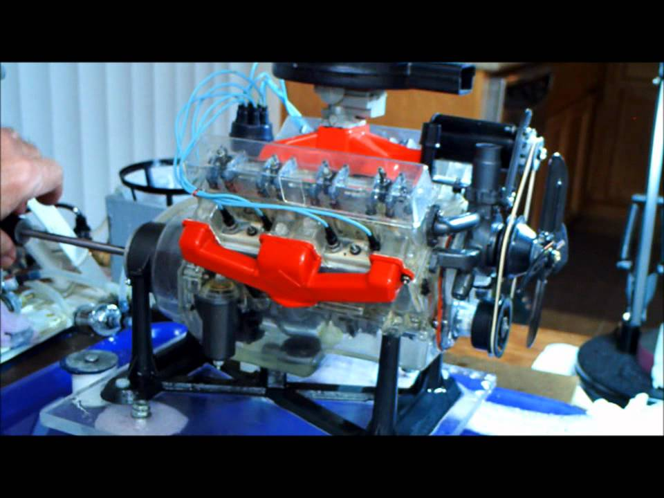 Visible V8 Assembly Part 4 Oct 9