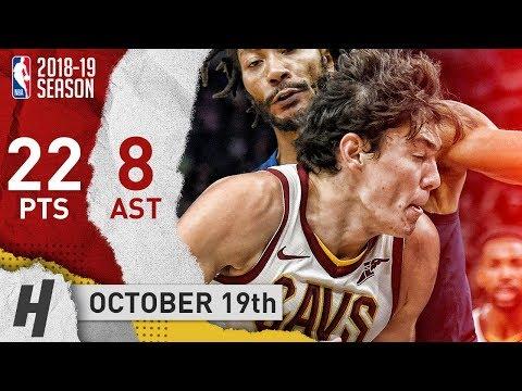 Cedi Osman Full Highlights Cavs vs Timberwolves 2018.10.19 - 22 Points, 8 Ast