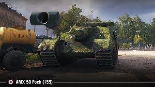 AMX 50 Foch (155) в Минске   Смертоносные шоты