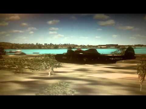FSX:SE Martin PBM Mariner Ford Island flight