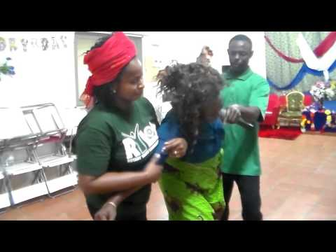 A POWERFUL DELIVERANCE, AS SHE WAS DELIVERED FROM MARINE HUSBAND, 2015 BY THE HOLY GHOST