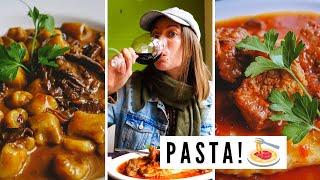ARTISANAL ARGENTINE PASTA ? + Tavern Picada in Trelew, Chubut, Argentina