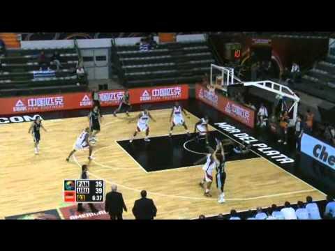 Panama Vs. Uruguay / 2011 FIBA Americas Championship Round 1
