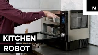 This Kitchen Robot Cooks Your Meals When You're Not Home
