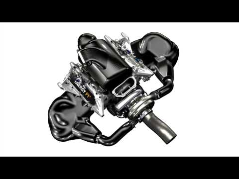F1 2014 Renault V6 Turbo Engine Sound Preview