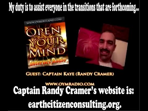 Captain Randy Cramer ~ I've been to Mars, Special Forces Marine Speaks Out