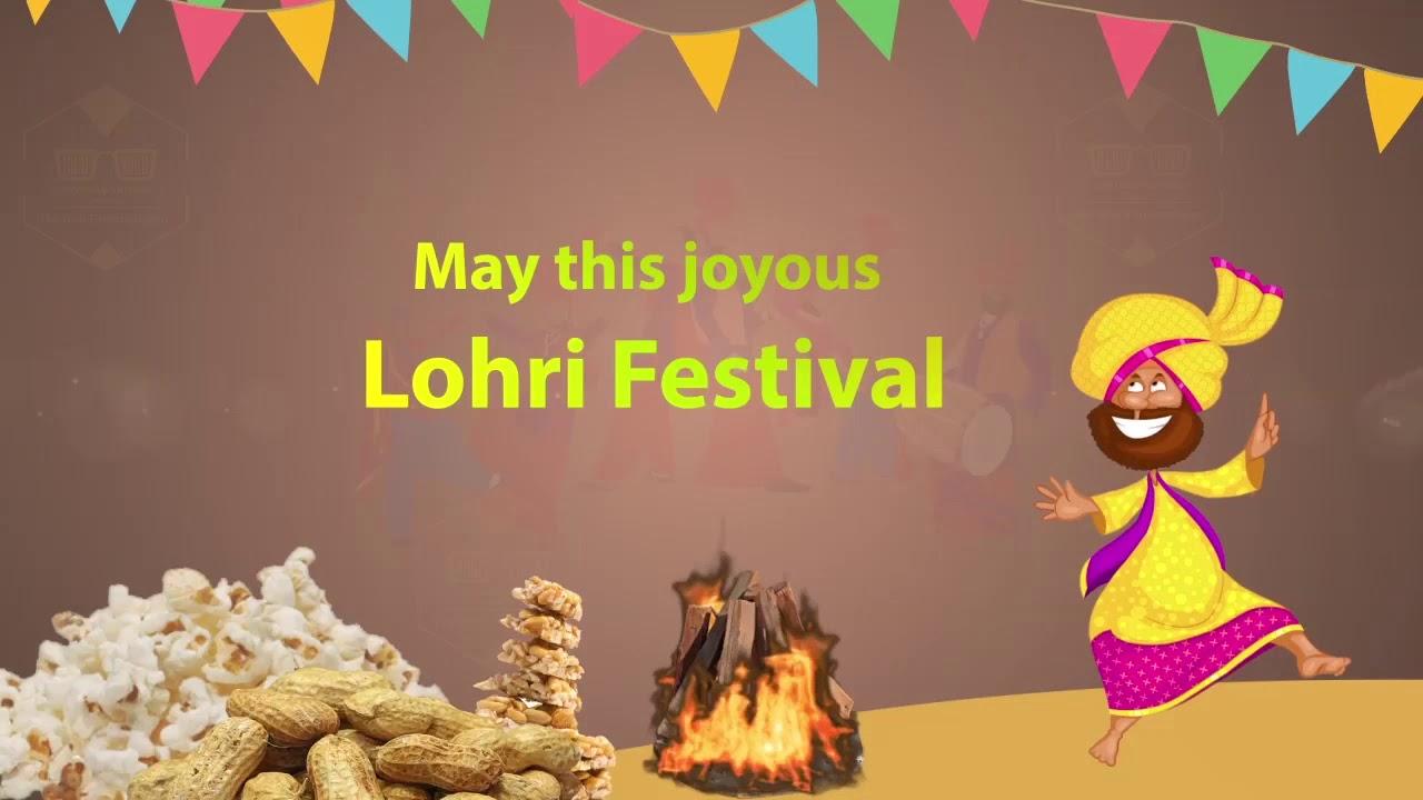 Happy Lohri 2019 Lohri Wishes Video ...