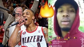 Damian Lillard Raps And Freestyle On Instagram While Camping