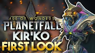 Kir'ko Preview | Age of Wonders: Planetfall