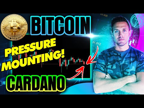 BITCOIN PRICE WAVERING....CARDANO AT A TIPPING POINT