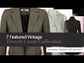 7 Featured Vintage Trench Coats Collection Amazon Fashion, Winter 2017