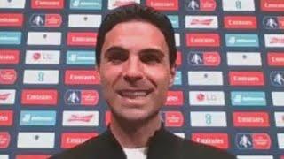 Микель Артета после выхода в финал Кубка Англии Арсенал 2 0 Манчестер Сити
