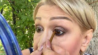 АСМР Шёпот Весёлый макияж Накрашу себя и тебя Ласковые кисточки по лицу ASMR Whisper MAKEUP