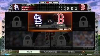 New PC Test: 1080p/60FPS MLB 14 gameplay (PS4, audio desync)