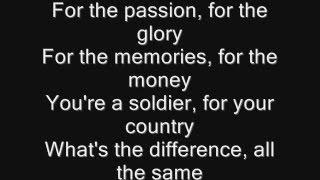 Iron Maiden - These Colours Don't Run Lyrics