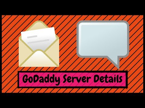 How To Find Your GoDaddy Email Username, Port Numbers And Server Details