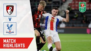 HIGHLIGHTS | AFC BOURNEMOUTH 0-0 CRYSTAL PALACE | BOURNEMOUTH WIN 11-10 ON PENALTIES | EFL CUP