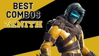 Best Combos | Zenith | Fortnite Skin Review