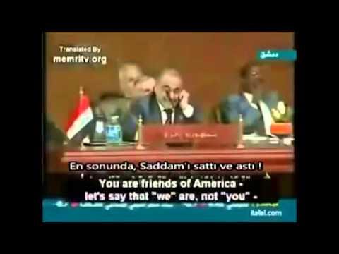 Kaddafi Arap Birliği Konuşma