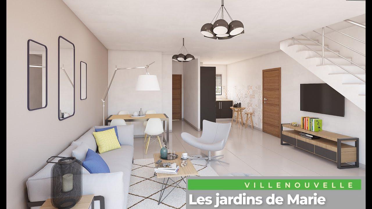 Les Jardins De Marie Villenouvelle Cooperative D Habitations