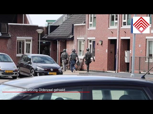 Man door DSI uit woning Oldenzaal gehaald