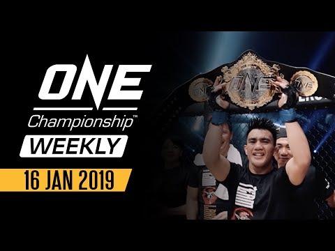 ONE Championship Weekly | 16 January 2019 Mp3