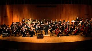 U of Iowa Symphony Orchestra - Brahms - Variations on a Theme of Joseph Haydn, Op. 56a