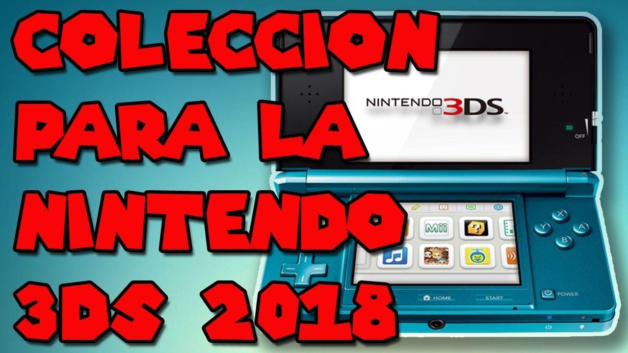Coleccion De Juegos Para La Nintendo 3ds 2018 Youtube