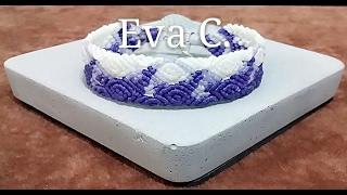 Eva Chiou Jewelry Designs 蠟線教學 25 : 手編 / 捲結-雙排玫瑰-1