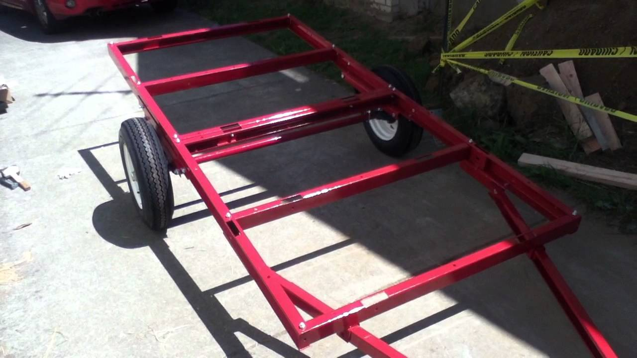 Short Intro Harbor Freight Hd Trailer As Basis For