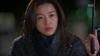 전지현, 김수현 정체 의심 @별에서 온 그대 8회