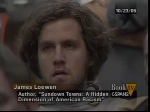 Book Discussion: Sundown Towns Hidden Dimension by James W Loewen