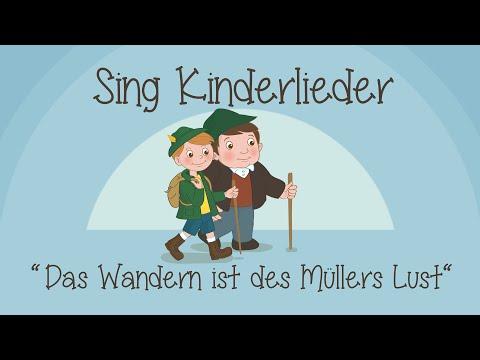 Das Wandern ist des Müllers Lust - Kinderlieder zum Mitsingen | Sing Kinderlieder