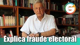 AMLO explica operación de compra de voto del PRI en Edomex