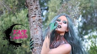 NYX FACE AWARDS UKRAINE 2017   Forest Nymph   Лісова Німфа