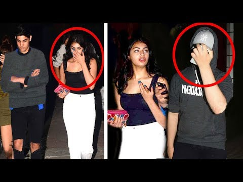 Akshay Kumar's Son Aarav CAUGHT With Girlfriend In Public Hiding His Face From Reporters