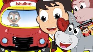 Die Räder Vom Bus (Das Buslied) und vieles mehr (17 Minuten+!) | Kinderlieder zum mitsingen