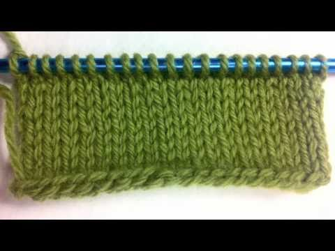 How to Knit The Single Cast On {Left Handed} - YouTube