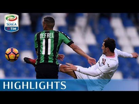 Sassuolo - Palermo - 4-1 - Highlights - Giornata 20 - Serie A TIM 2016/17