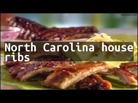 Recipe North Carolina house ribs